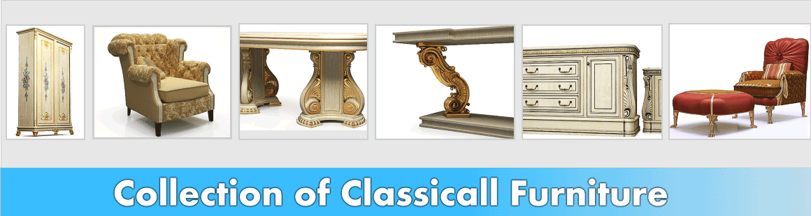 3d models of classical furniture.