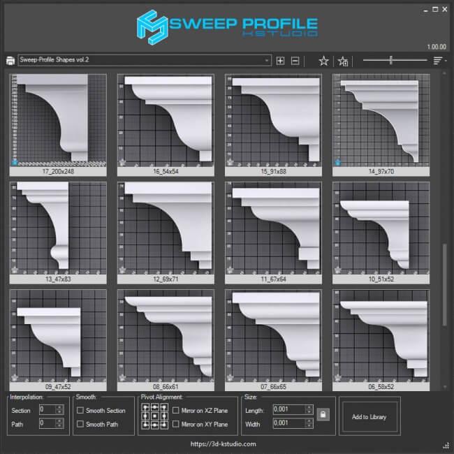 Sweep Profile PRO