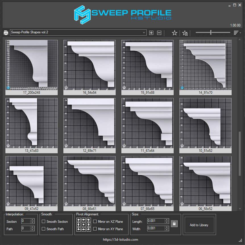 Sweep Profile
