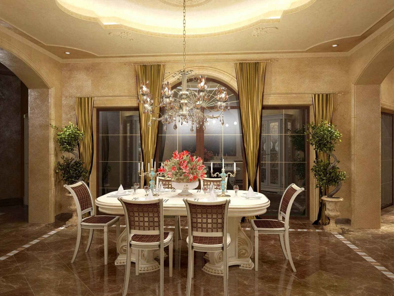 Classic furniture 3d models kstudio 3ds max plugins for Dining room 3d max interior scenes