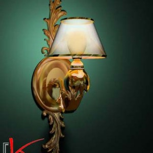 3d Model of Classical sconce