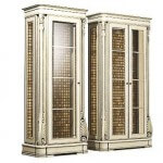 Classical carved cupboard 3d model