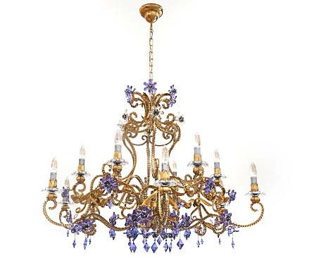 Classic Crystal Chandelier 3d model