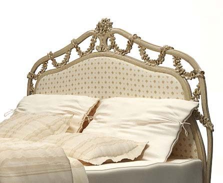 Classical Bed with Ottoman 3d model