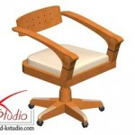 Armchair by Giorgetti