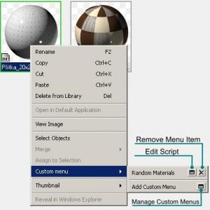 Customize Project Manager Menu
