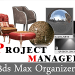 Kstudio - Project Manager. 3ds Max Asset Browser