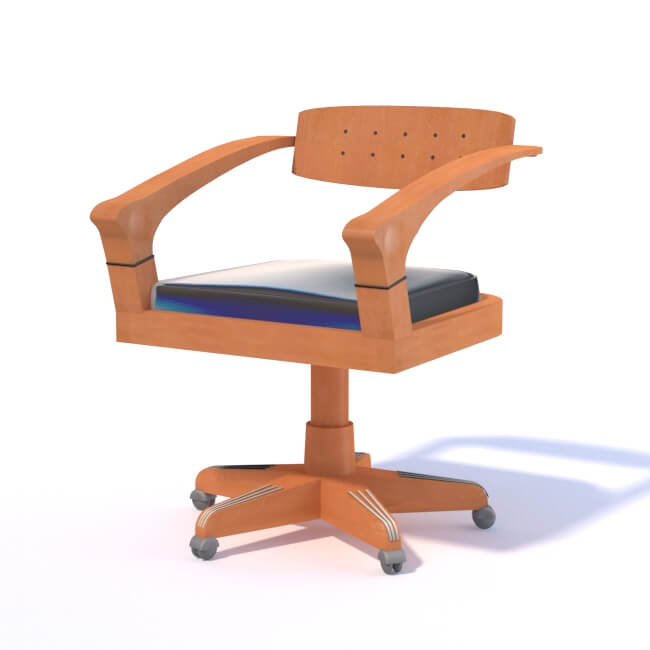 Armchair by Giorgetti 3D model