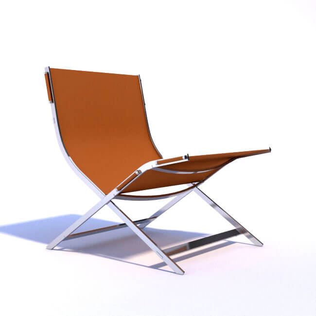 FlexForm timeless 2004 Antonio Citterio - chair 3d model