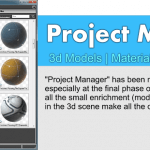 Project Manager - 3ds Max plugin for cataloging and use 3d models,materials & etc