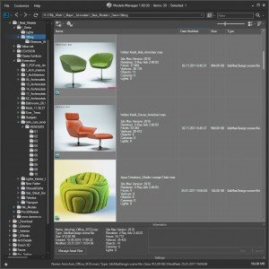 3ds Max Models Manager