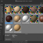 Materials Manager -Interactive rendering