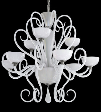 Murano glass chandelier - 3d Model | Kstudio - 3ds Max Plugins & Scripts