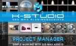 Project Manager - most advanced tool for working with 3ds Max assets