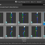 Play Biped Motion files in Project Manager v2.51.43