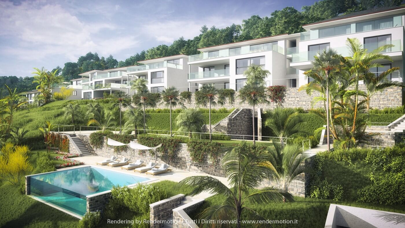 Exterior rendering by Rendermotion