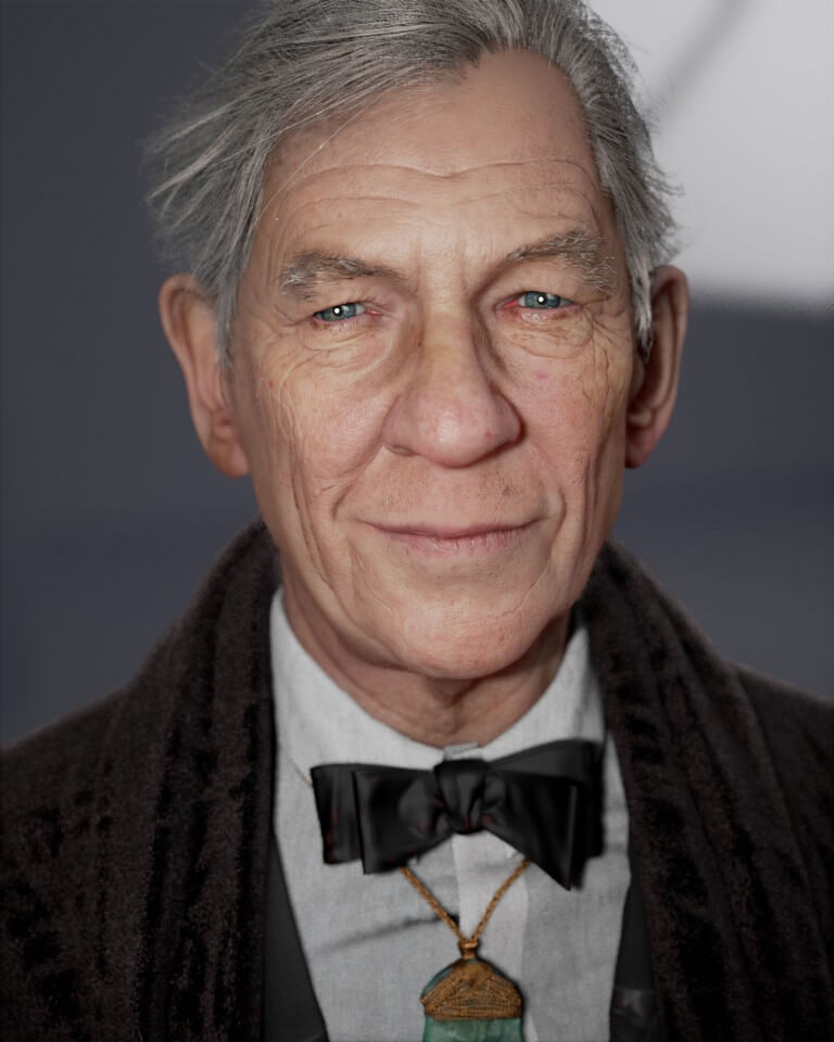 Sir Ian Mckellen by Noel Que