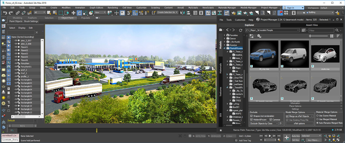Working with 3D Models in Project Manager | Kstudio - 3ds Max