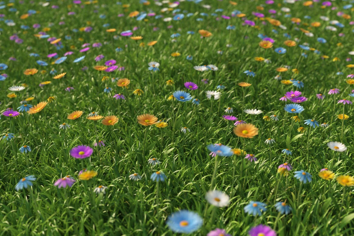 how to make realistic grass in 3ds max