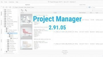 Project Manager version 2.91.05