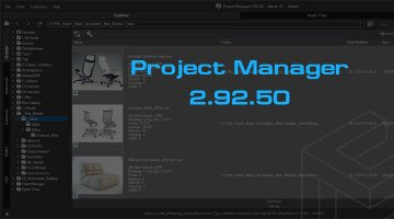 Project Manager v 2.92.50 - Speeds up the relinking of asset files
