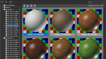 Materials Manager - 3ds Max Material Library Explorer