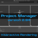 Project Manager 2.94 - interactive rendering 3d files