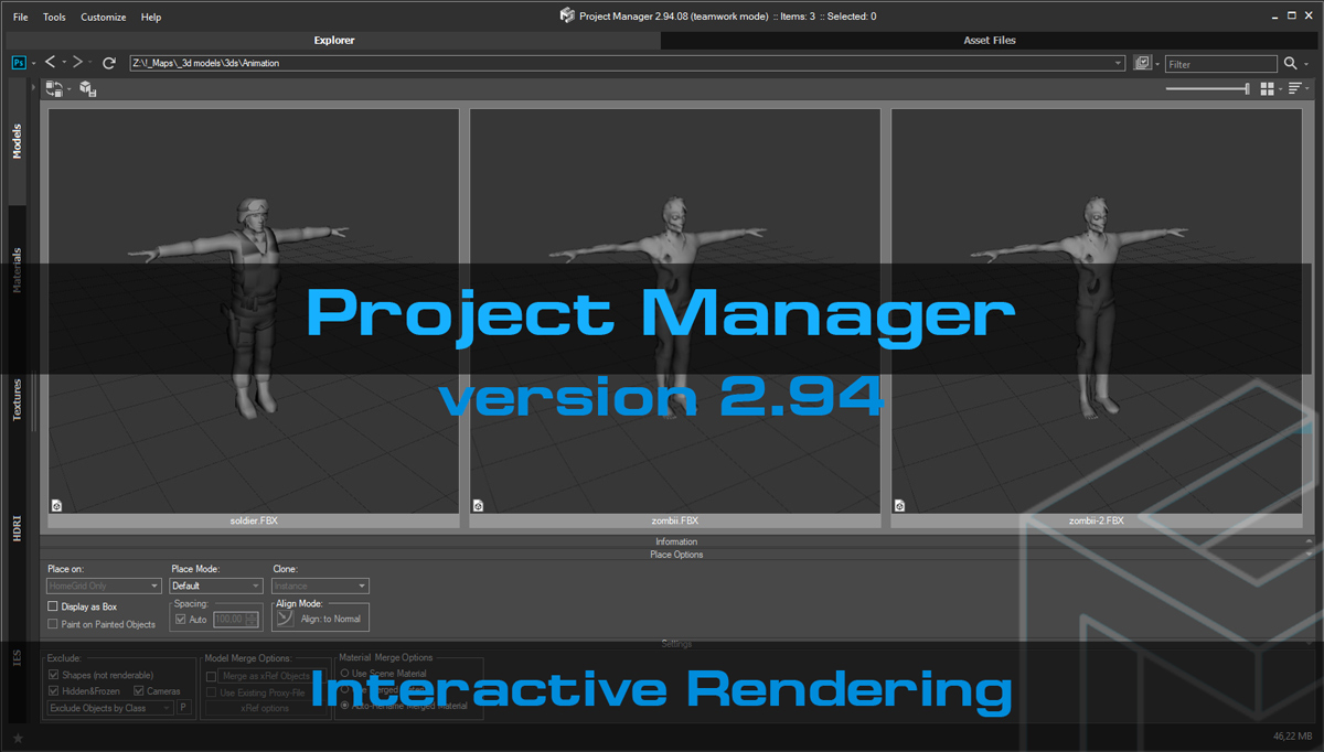 Project Manager version 2 94 12 | New version of Asset