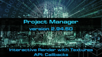 Project Manager 2.94.50 - 3d Files Asset Browser