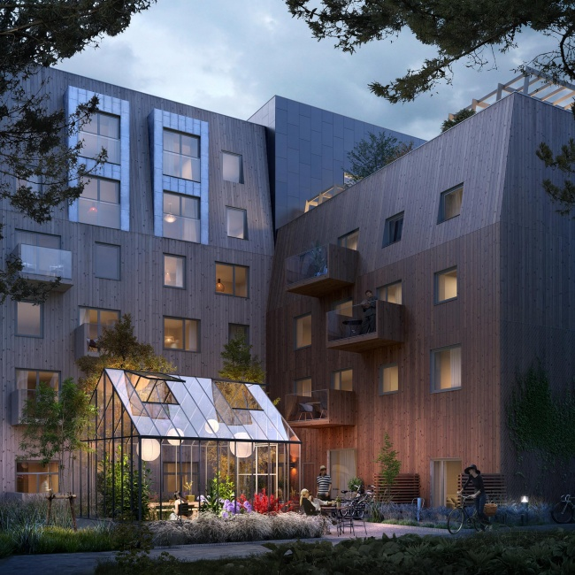 Residential development in Sweden