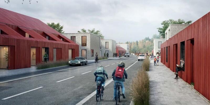 Photorealistic visualization for the Swedish architectural company Kjellgren Kaminsky