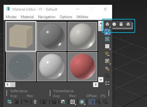 3ds Max Material Editor