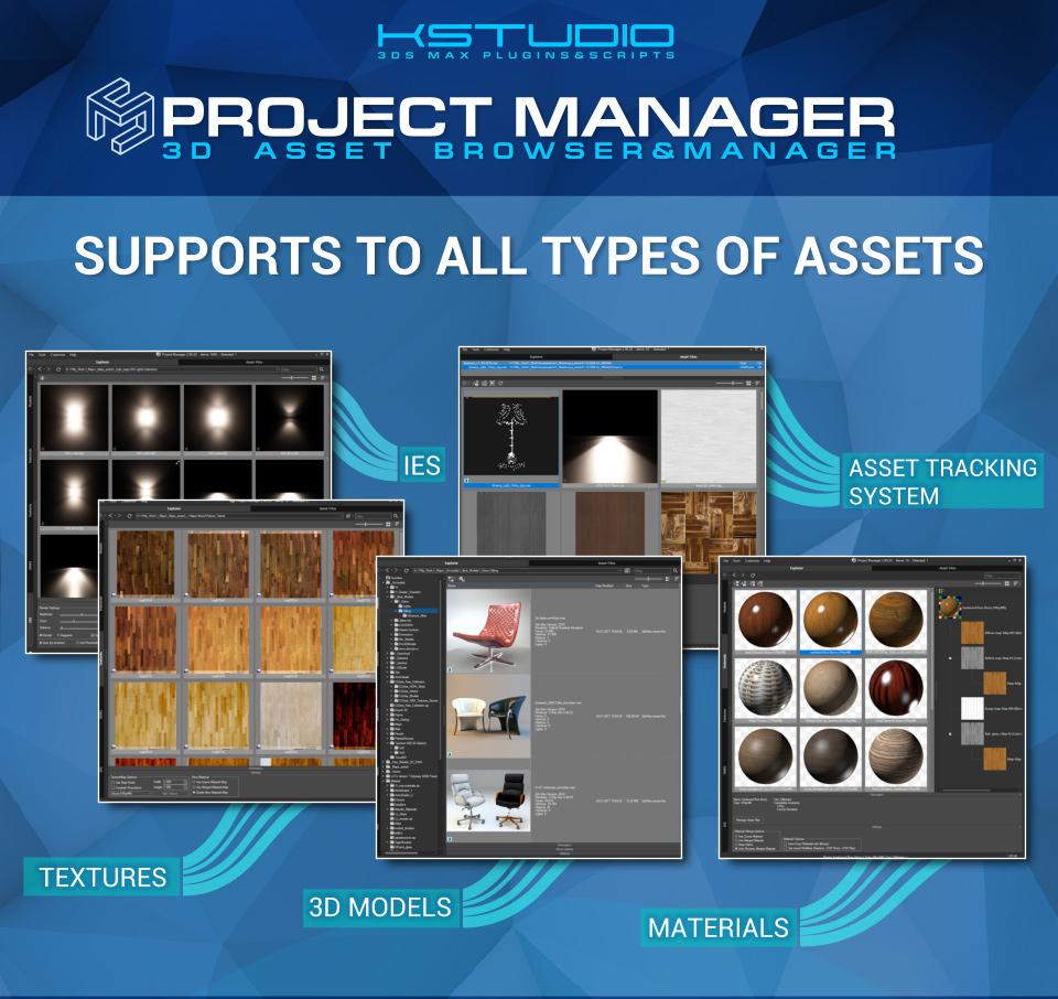 Project Manager's features in infographic