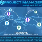 Project Manager 2.96.45 - Ability to use Database in read-only mode. Fixes some issues with placing of merged nodes