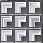 Sweep Shapes. Panel Chair Rail Molding-B 2