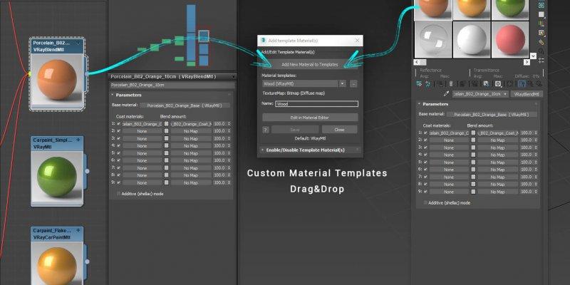 Custom Material Templates