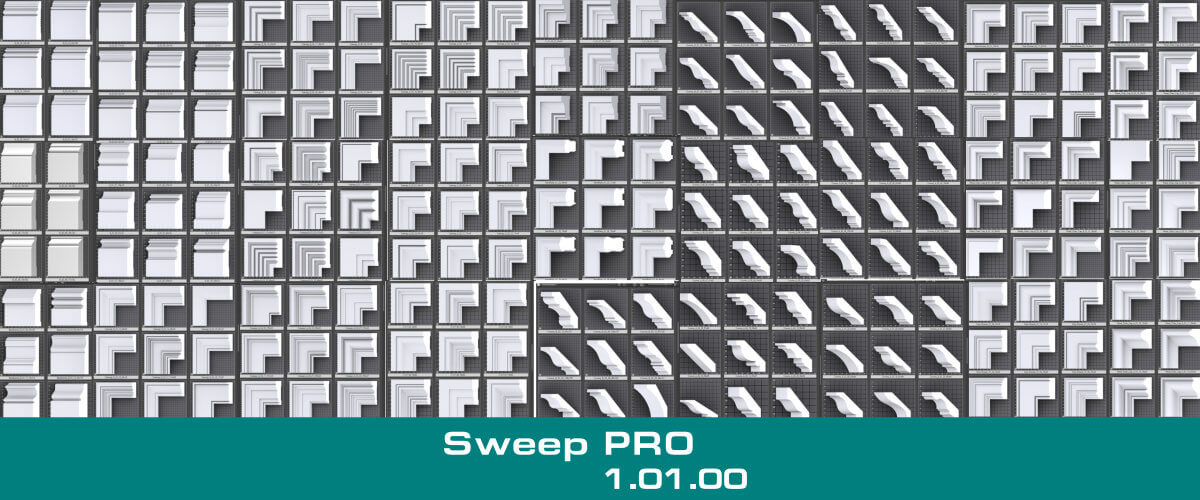 Sweep PRO. Ability to use selected edges from Editable Poly