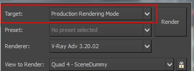 render mode production