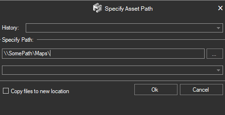 Set Asset Path