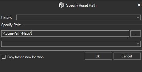 Set Asset Path