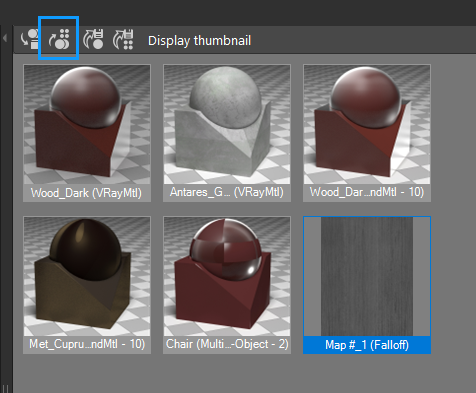 Place to Material Editor