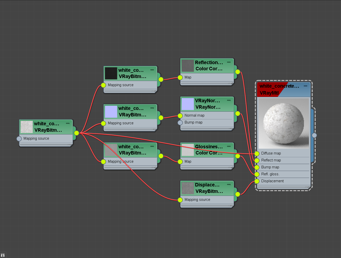 Adds support to mapSource for V-Ray PBR materials